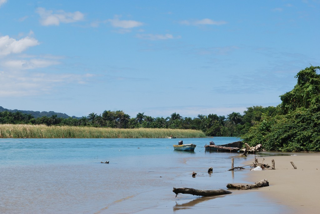 River Fishing in the Dominican Republic