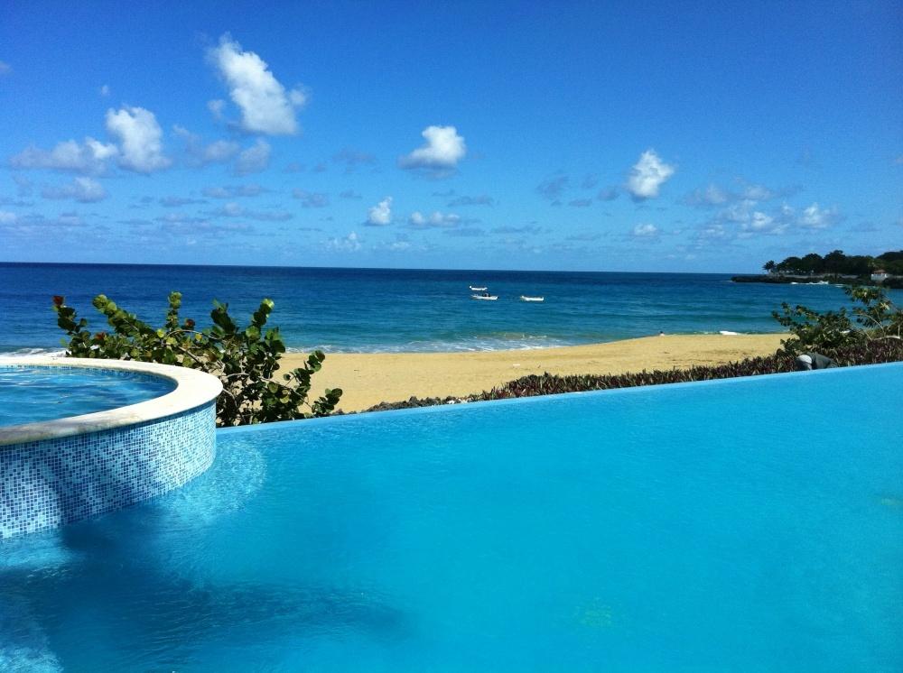 New beachfront condominium complex in Sosua, Dominican Republic
