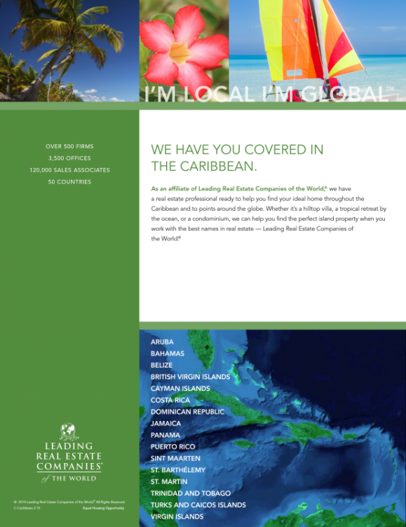 Real Estate and Relocation Services around the globe with Select Caribbean Properties