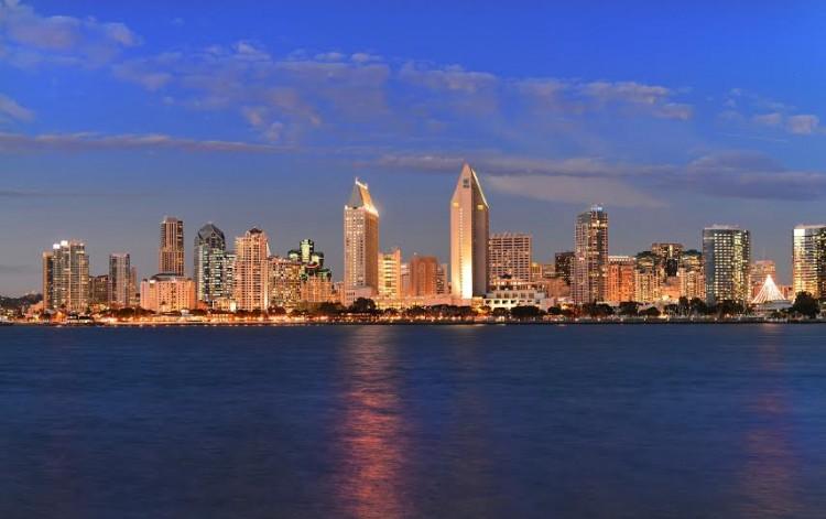 Skyline San Diego California USA